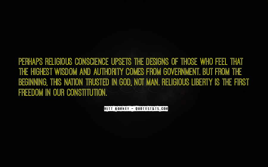 Quotes About Conscience And Freedom #1565820