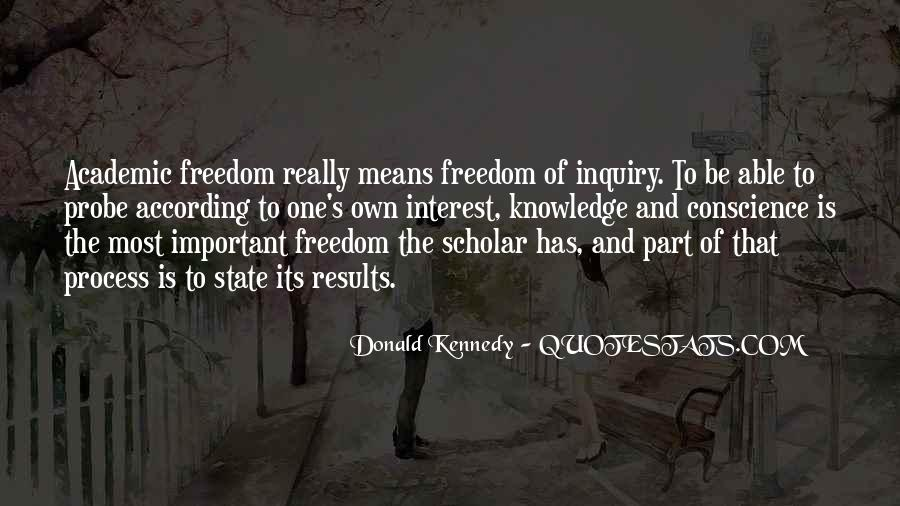 Quotes About Conscience And Freedom #1591961