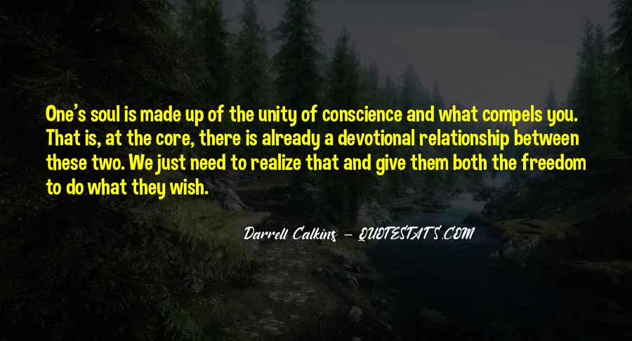 Quotes About Conscience And Freedom #1600032