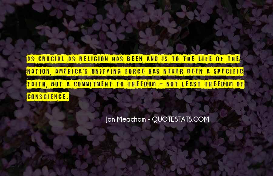 Quotes About Conscience And Freedom #1710164
