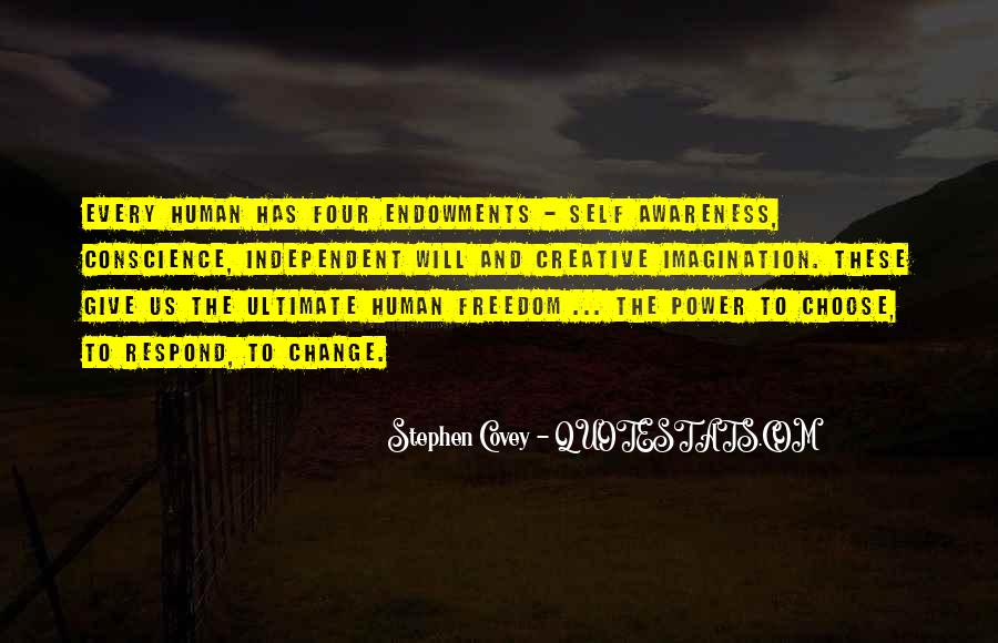 Quotes About Conscience And Freedom #1727924