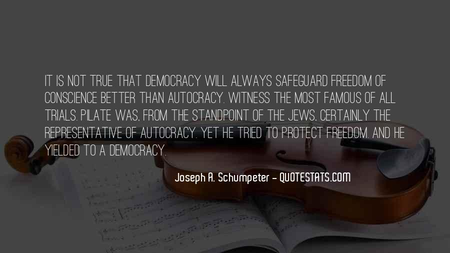 Quotes About Conscience And Freedom #376337