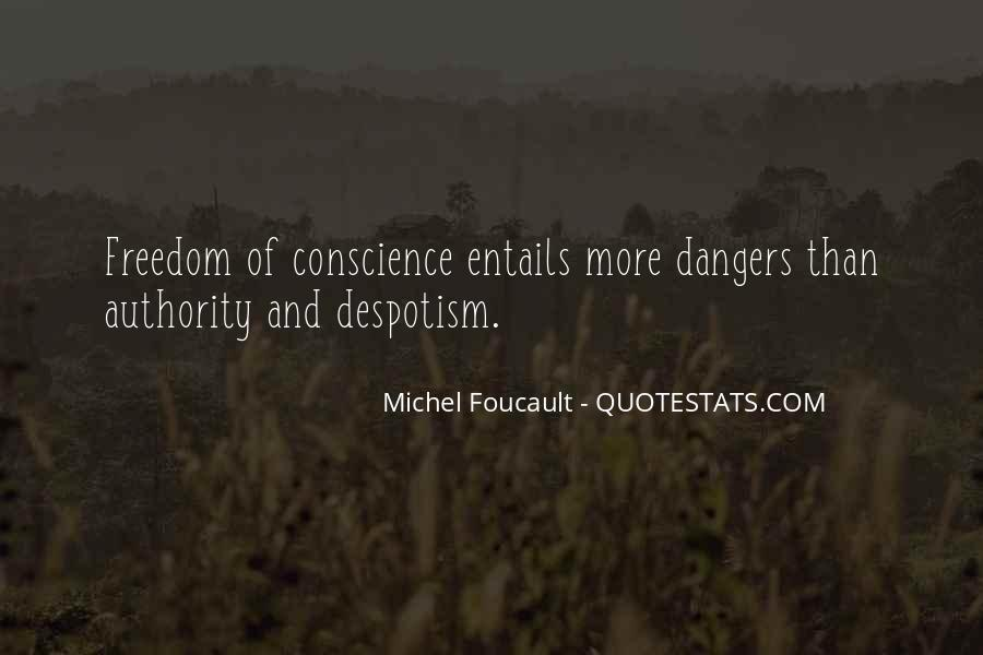 Quotes About Conscience And Freedom #42973