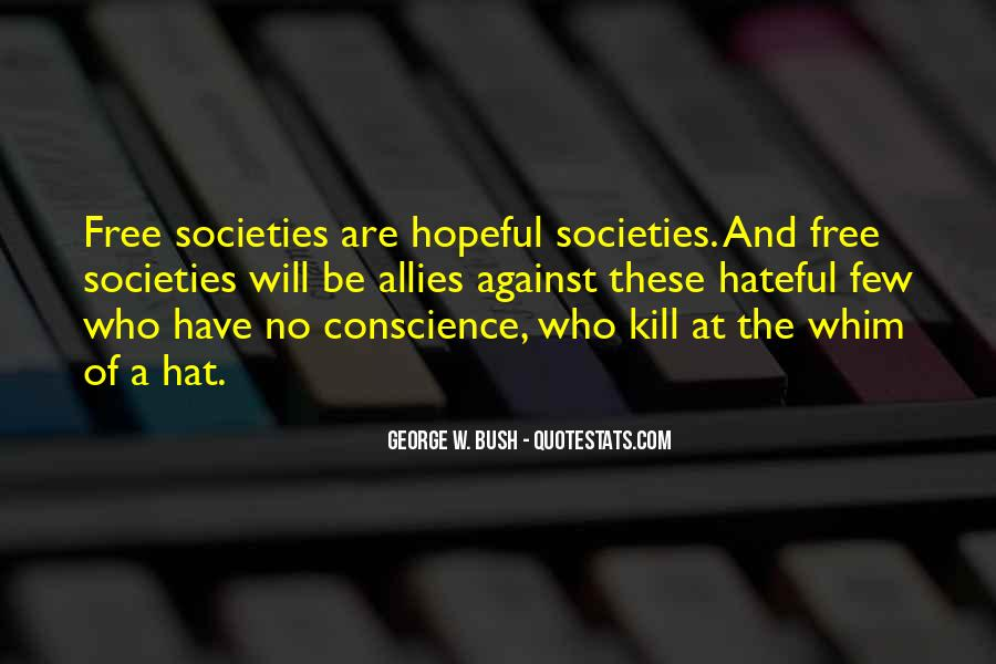 Quotes About Conscience And Freedom #527858