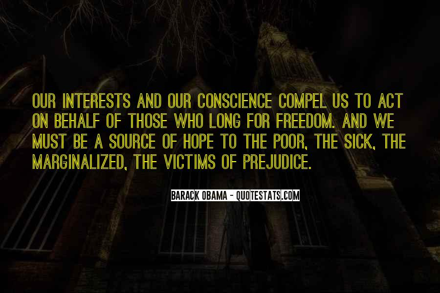 Quotes About Conscience And Freedom #608520
