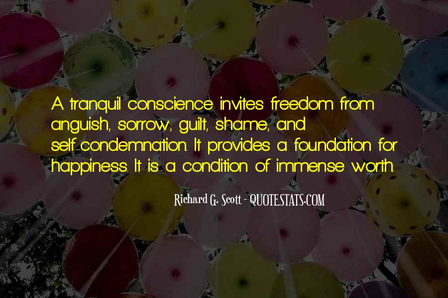 Quotes About Conscience And Freedom #673048