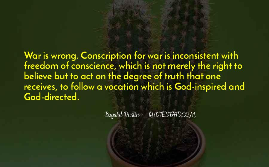 Quotes About Conscience And Freedom #763602