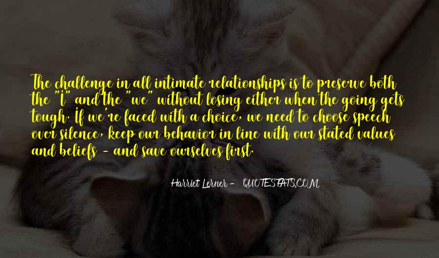 Quotes About Tough Relationships #1322410