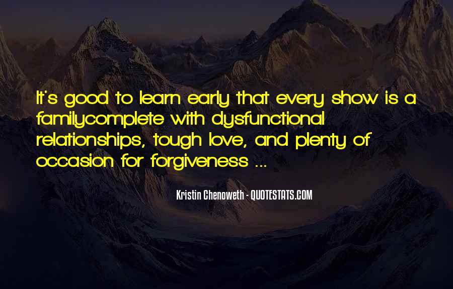 Quotes About Tough Relationships #1336494