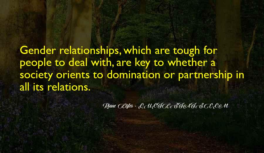 Quotes About Tough Relationships #323100