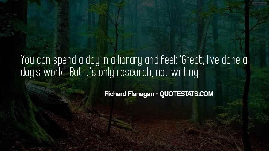 Quotes About Library Research #1012015