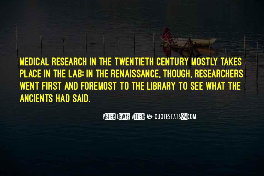 Quotes About Library Research #1063148