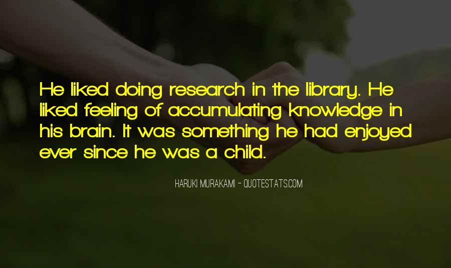 Quotes About Library Research #20776