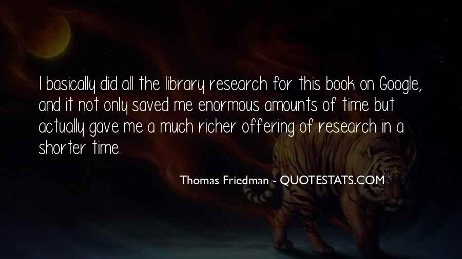 Quotes About Library Research #551579