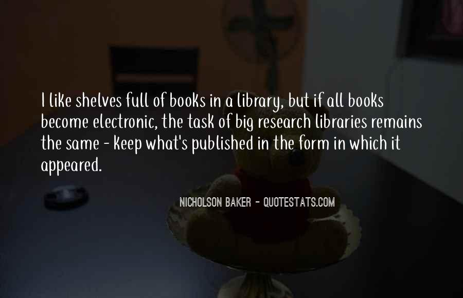 Quotes About Library Research #567673