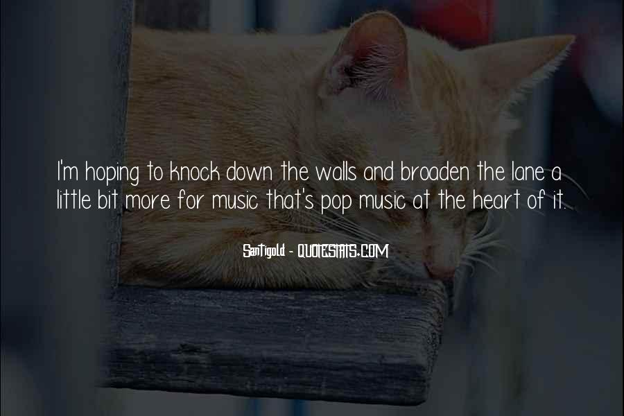 Quotes About Heart And Music #18700