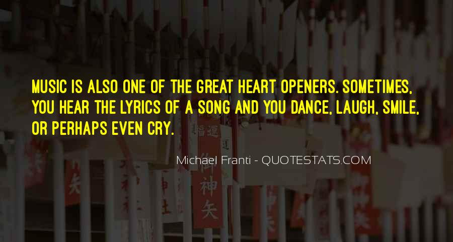 Quotes About Heart And Music #213701
