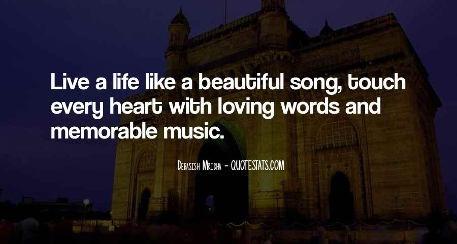 Quotes About Heart And Music #268136