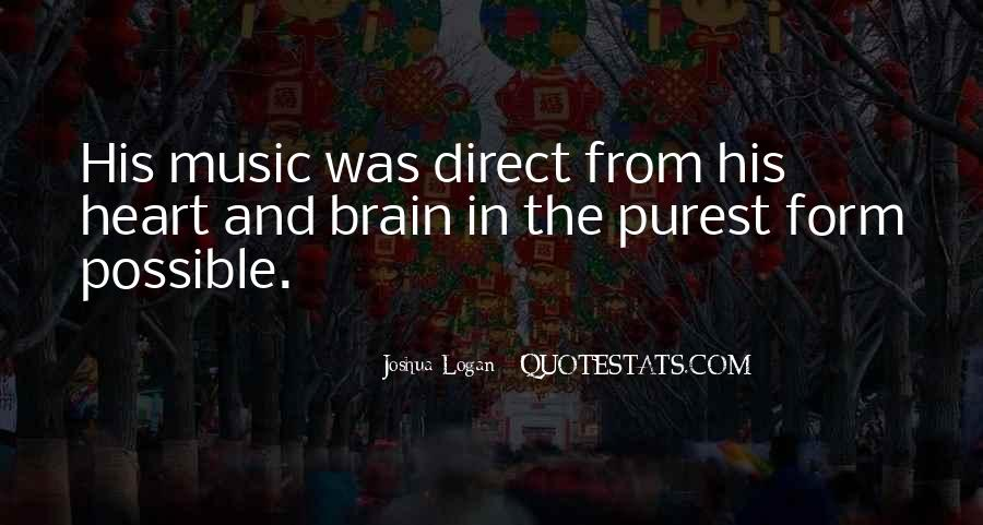 Quotes About Heart And Music #268180
