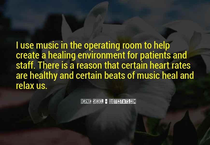 Quotes About Heart And Music #434953