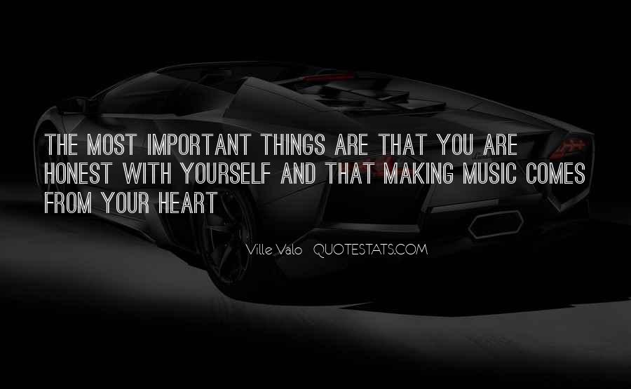 Quotes About Heart And Music #493666