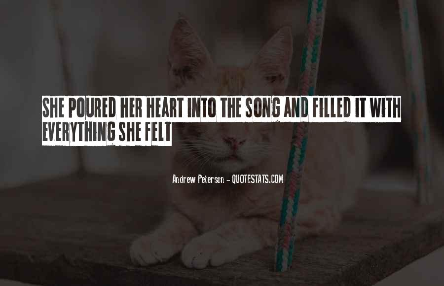 Quotes About Heart And Music #84238