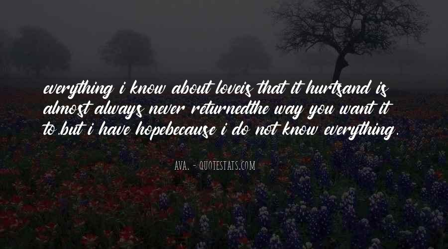 Quotes About Hurts #8453