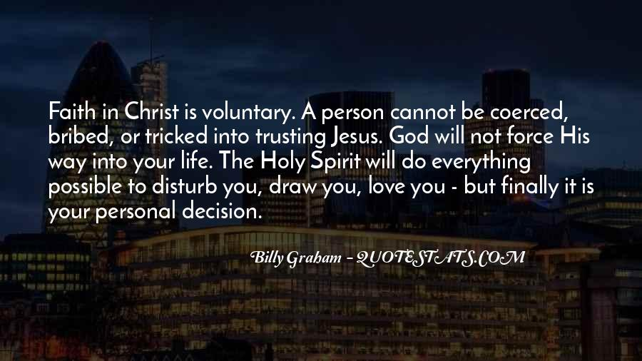Quotes About Trusting Jesus #1159057