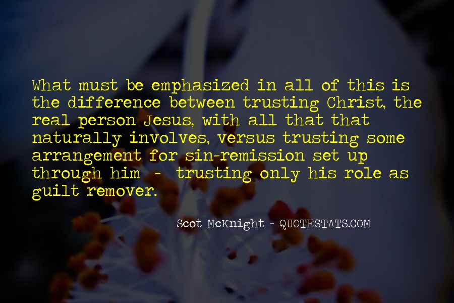 Quotes About Trusting Jesus #1337450