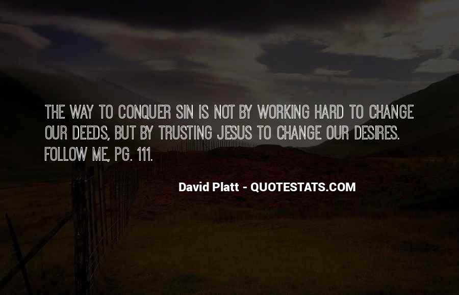 Quotes About Trusting Jesus #1703179