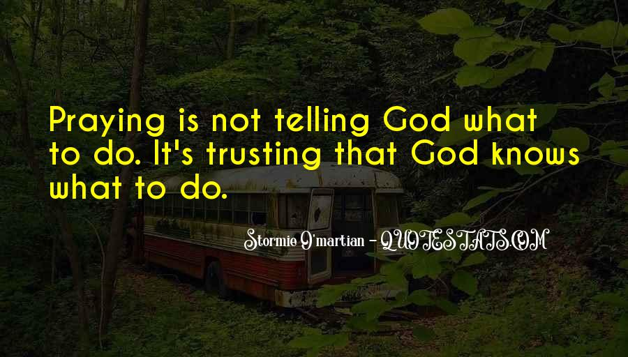 Quotes About Trusting Jesus #1828544