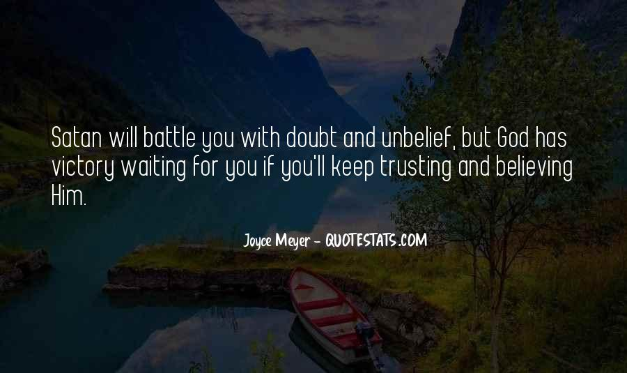 Quotes About Trusting Jesus #508009