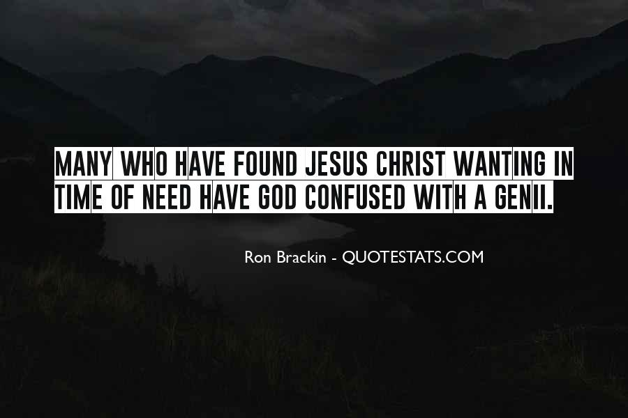 Quotes About Trusting Jesus #536589