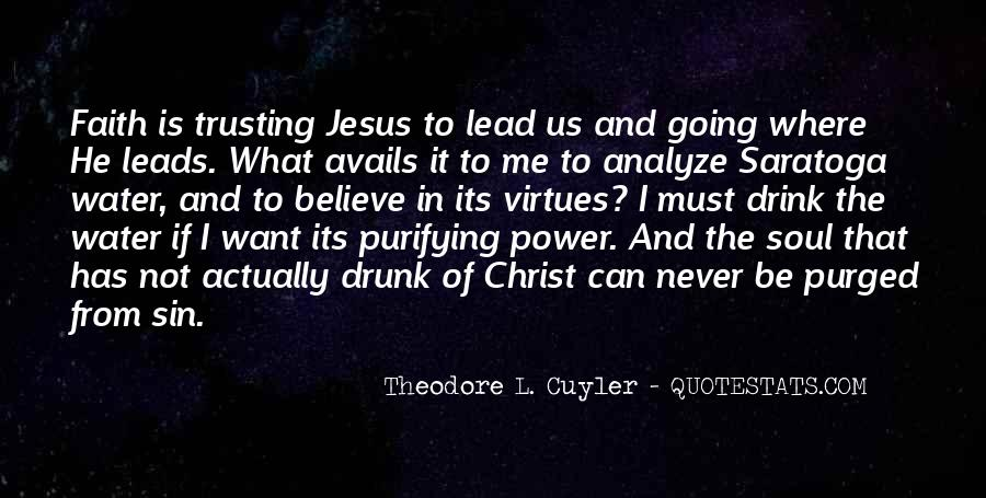 Quotes About Trusting Jesus #686815