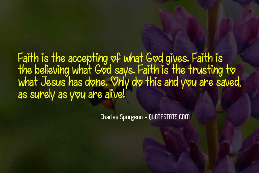 Quotes About Trusting Jesus #803642