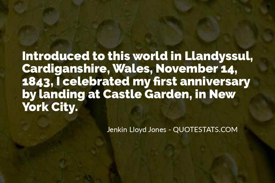 Quotes About Wales #190288