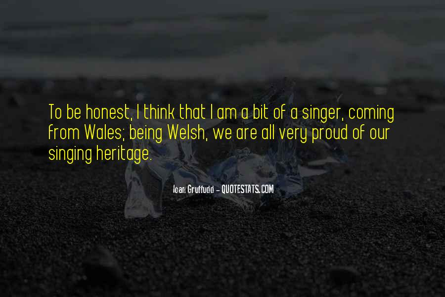 Quotes About Wales #283289