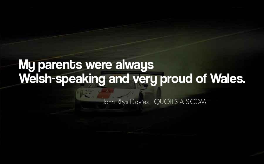 Quotes About Wales #304232