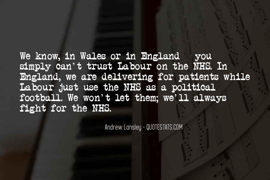 Quotes About Wales #349168