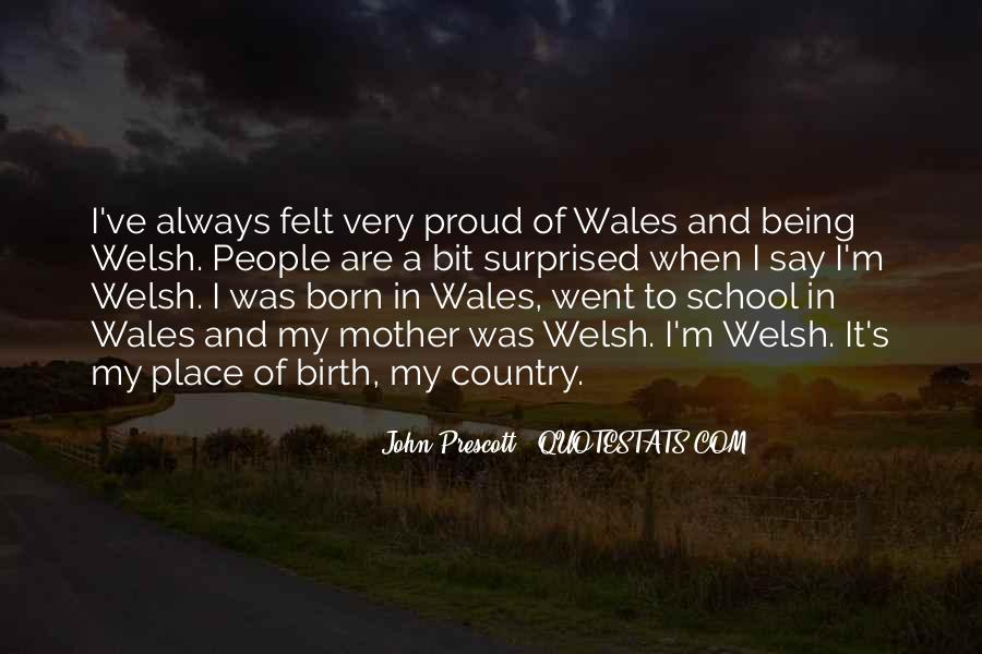 Quotes About Wales #453112