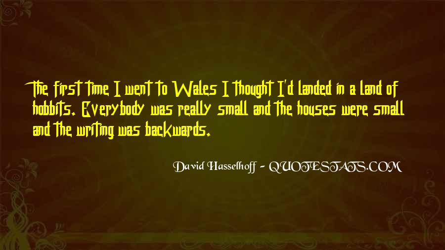 Quotes About Wales #80889