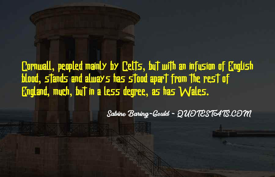Quotes About Wales #81891