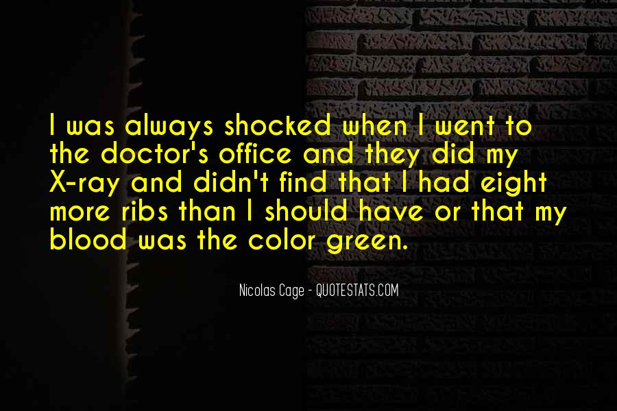 Quotes About The Doctor's Office #1219689