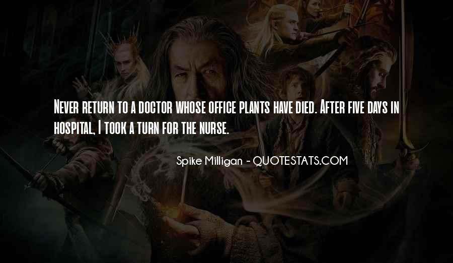 Quotes About The Doctor's Office #45976