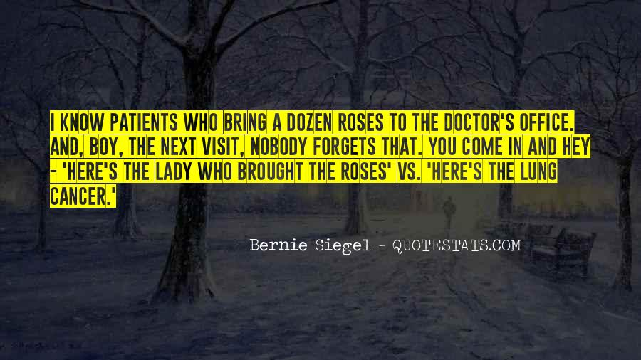 Quotes About The Doctor's Office #647251