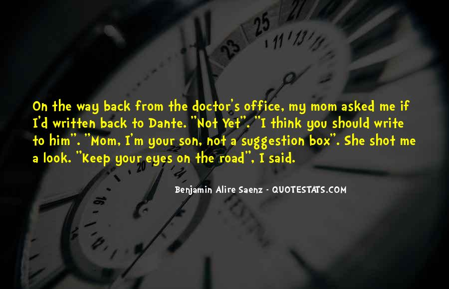 Quotes About The Doctor's Office #917905