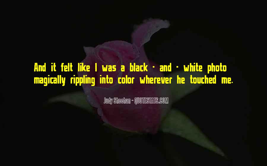 Quotes About Color Black And White #1154583