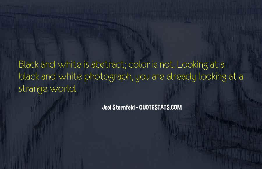 Quotes About Color Black And White #1156589
