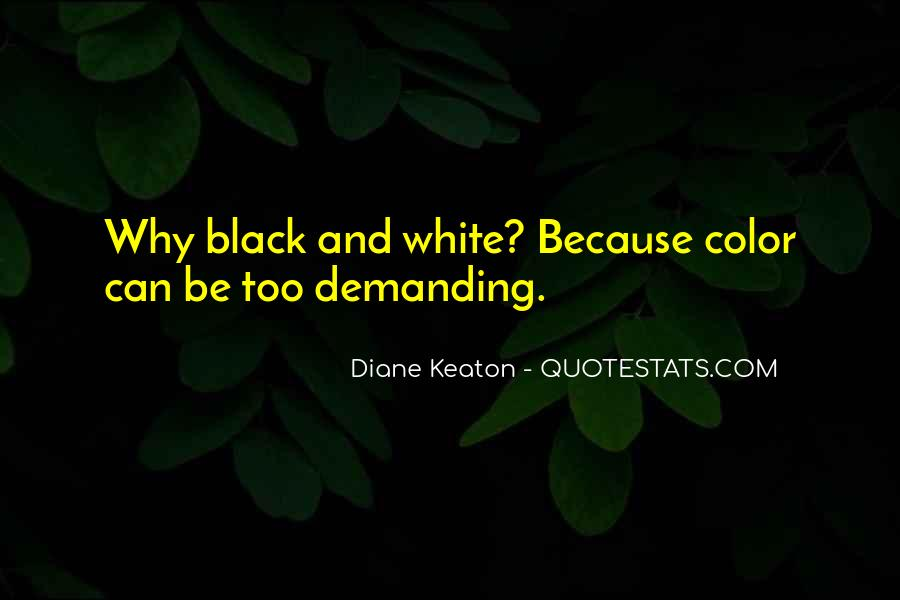 Quotes About Color Black And White #116733