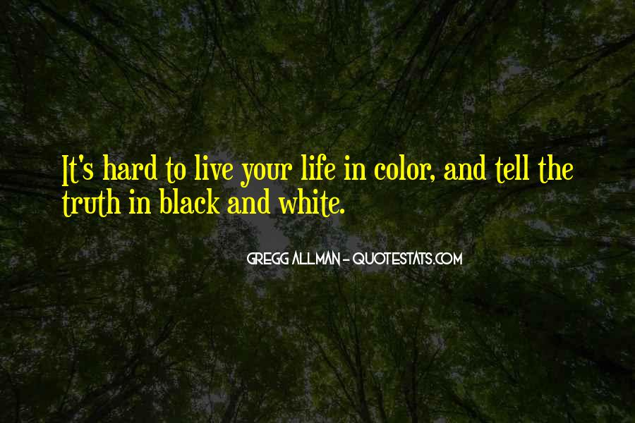 Quotes About Color Black And White #269769